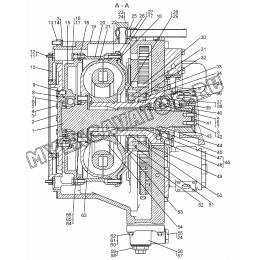 Гидротрансформатор с редуктором приводов