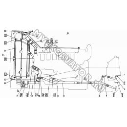 Система охлаждения двигателя и трансмиссии