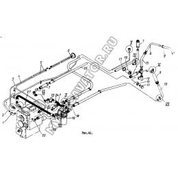 Гидросистема ГМКП ТО-30.45.00.000 (часть 1)