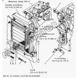 Установка системы охлаждения