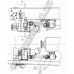 Трансмиссия КО-823.16.01.000-02