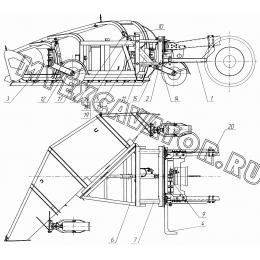 Оборудование плужное скоростное КО-823.47.00.000