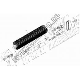Оборудование щеточное КО-823А.08.01.000