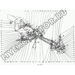 Гидросистема управления 4225А.17.81.000