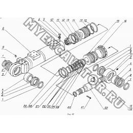 Гидроцилиндр рукояти 4125.23.60.000
