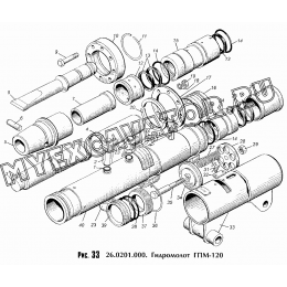 Гидромолот ГПМ-120 26.0201.000