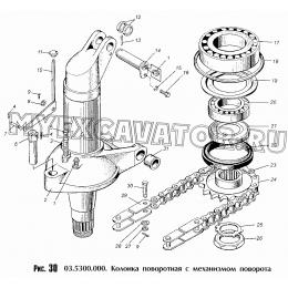 Колонка поворотная с механизмом поворота 03.5300.000