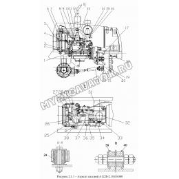 Агрегат силовой А122Б-2.10.00.000
