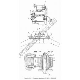 Подвеска двигателя ДЗ-122Б-7.10.01.000