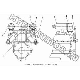 Глушитель ДЗ-122Б-6.10.07.000