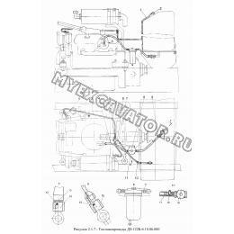 Топливопроводы ДЗ-122Б-6.10.06.000