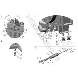 Система охлаждения ЗТМ216-31.03.000