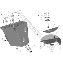 Бак топливный ЗТМ261-01.01.200