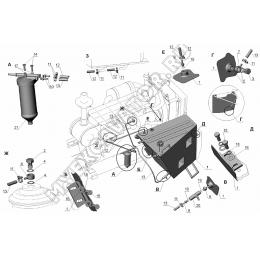 Система топливная ЗТМ216-31.09.000