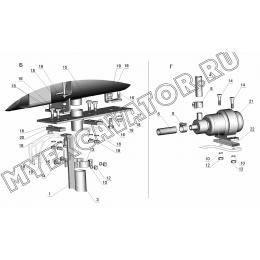 Установка подогревателя ЗТМ216-31.06.000