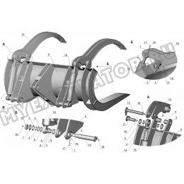 Захват вильчатый ЗТМ216-07.10.000
