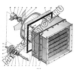 Блок радиаторов ЭО-5122.11.16.100