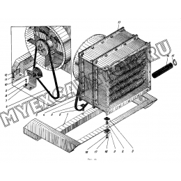 Установка радиаторов ЭО-5122.11.16.000-2
