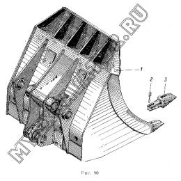 Ковш прямой лопаты 1,6куб.м ЭО-5122.13.11.000-1
