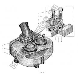 Механизм поворота ЭО-5122.03.00.000-1