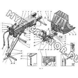 Оборудование рабочее прямая лопата ЭО-5122.13.00.000-1