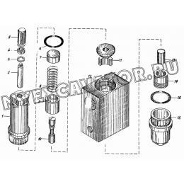 Клапан обратный управляемый КС-3562А.66.700, КС-3562А.66.700-01