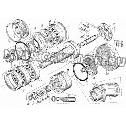 Насос или гидромотор аксиально-поршневой типа 210.25.13.21Б