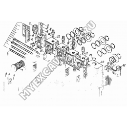 Распределитель КС-3562А.60.800