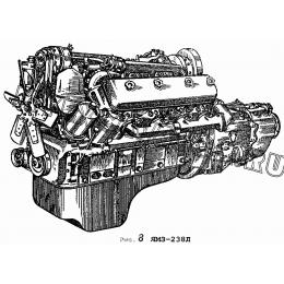Двигатель ЯМЗ-238Л ЯМЗ 236