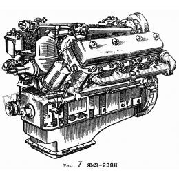 Двигатель ЯМЗ-238Н ЯМЗ 236