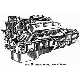 Двигатели ЯМЗ-238ПМ, ЯМЗ-238ФМ ЯМЗ 236