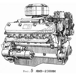 Двигатель ЯМЗ-238ИМ ЯМЗ 236