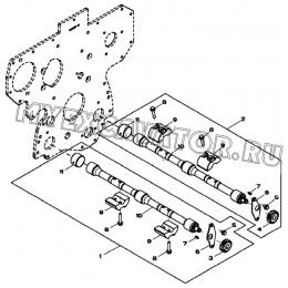 Валы балансирные/BALANCER SHAFT, 4045HF280 (S/N: A19001-) G1-26-1 Hidromek HMK 102 B