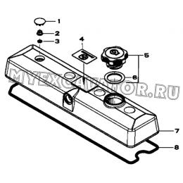 Крышка ГБЦ/VALVE COVER, 4045HF280 (S/N: A19001-) G1-2-1 Hidromek HMK 102 B