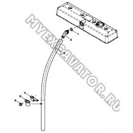 Система вентиляции/VENTILATING SYSTEM, 4045HF280 (S/N: A19001-) G1-17-1 Hidromek HMK 102 B