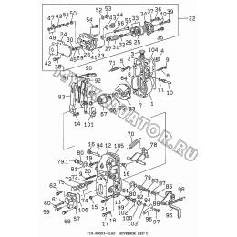 6BG53-01A0 Регулятор/GOVERNOR ASS'Y Isuzu 6BG1