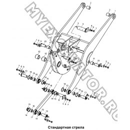 Стандартная стрела 300F.08 Mitsuber ML333N