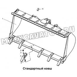 Стандартный ковш 300F.30 Mitsuber ML333N