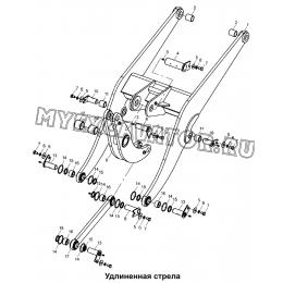 Удлиненная стрела 300F.08II Mitsuber ML333N