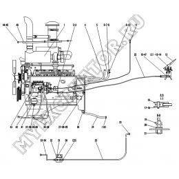 Двигатель A1-2901001570 SDLG LG936L