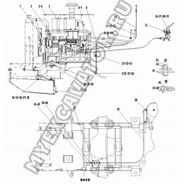 Двигатель A1-2901001548 SDLG LG936L