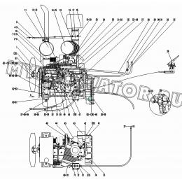Двигатель A1-2901001607 SDLG LG936L