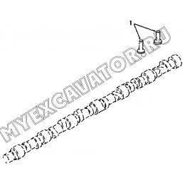 Ведомый элемент кулачкового вала BP9711ZZ A8-4110000555 SDLG LG936L