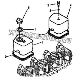 Крышка головки цилиндра VC9023ZZ A51-4110000555 SDLG LG936L