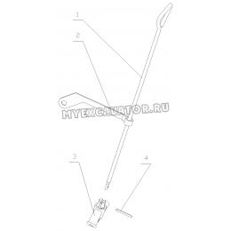 Сливной кран системы охлаждения 6105QA-1305000 Yuchai YC6108G