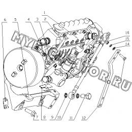 Топливный насос B7606-1111000 Yuchai YC6108G