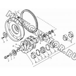 Вал коленчатый ВТЗ Д-120