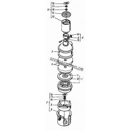 Воздухоочиститель Д37Е-1109012А4 (Д120-06, Д120-09, Д120-18, Д120-30, Д120-32) ВТЗ Д-120