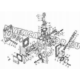 Корпус топливного насоса ВТЗ Д-120