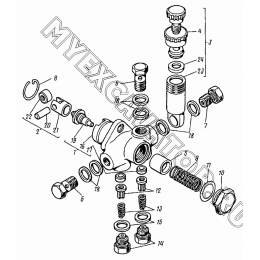 Насос топливоподкачивающий 21.1106010-01 ВТЗ Д-120
